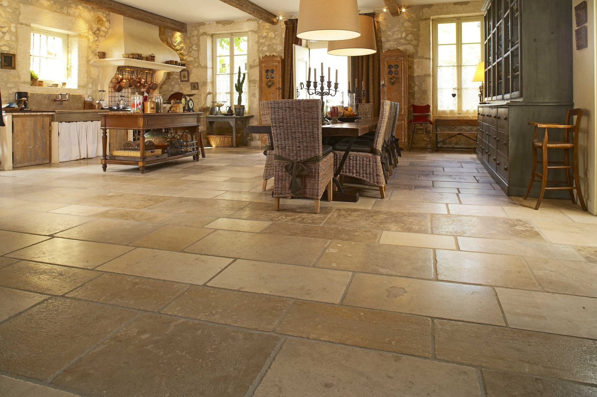 How to maintain and prolong natural stone flooring