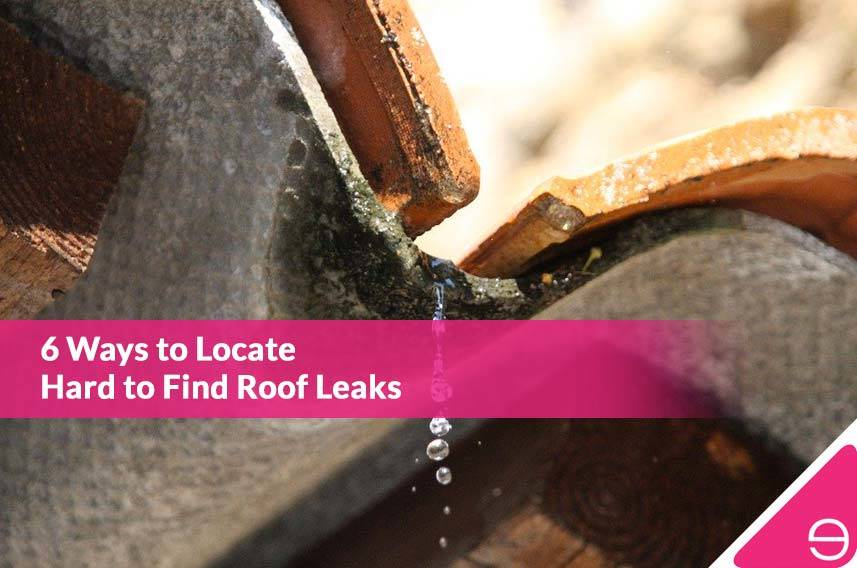 6 Ways to Locate Hard to Find Roof Leaks