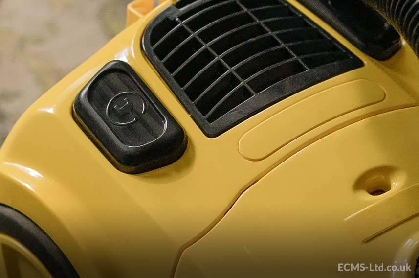 Yellow Vacuum Cleaner