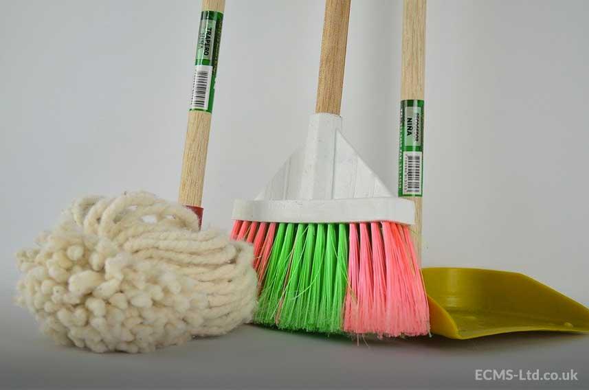 Mop Broom & Dustpan